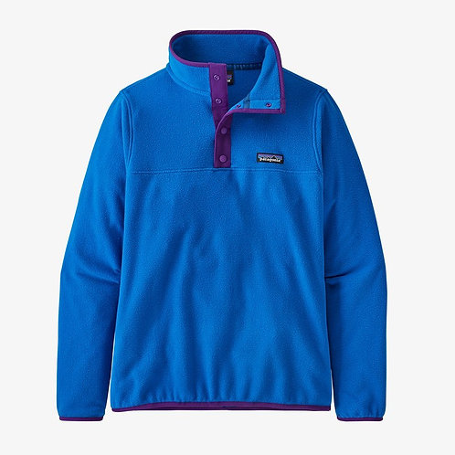 Patagonia W's Micro D Snap-T Fleece Pullover in Alpine Blue