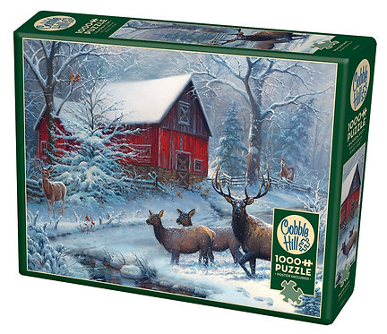 1000 Piece Puzzle - Winter Magic