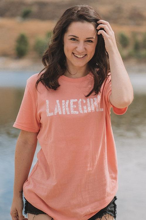 Lakegirl Tee in Melon