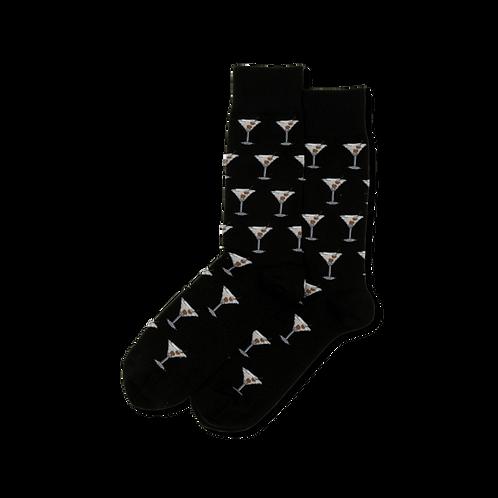 Mens Socks - Martini