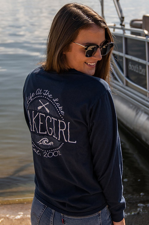 Lakegirl Life at the Lake Long Sleeve Tee