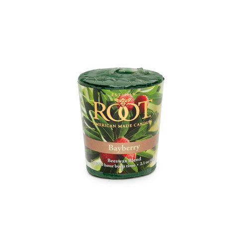 Root Candle in Bayberry - Votive