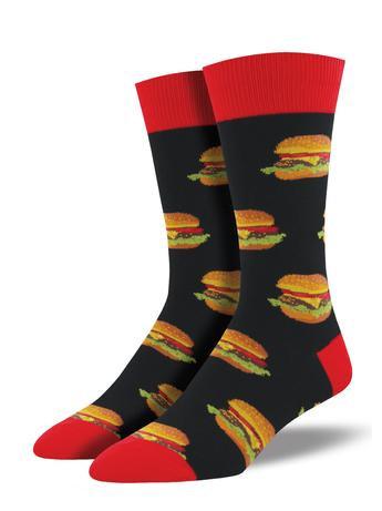 Mens Socks - Burgers