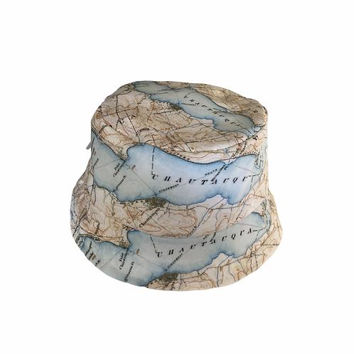 Chautauqua Lake Map Baby Bucket Hat