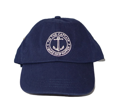 Chautauqua Lake Baseball Hat - I'm the Captain, I Make Ship Happen