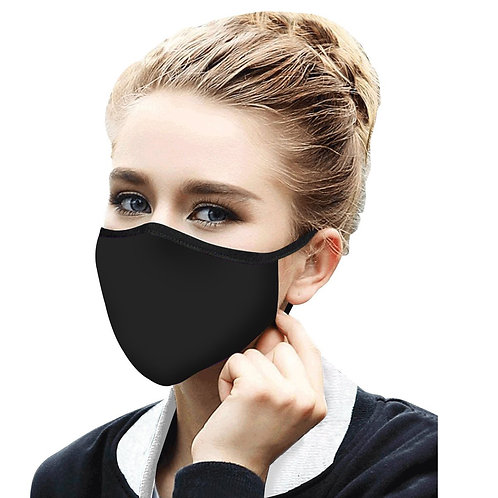 Face Mask by Rain Capers - Black