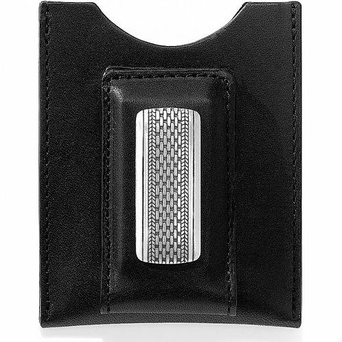 Brighton Salina Money Clip Wallet in Black