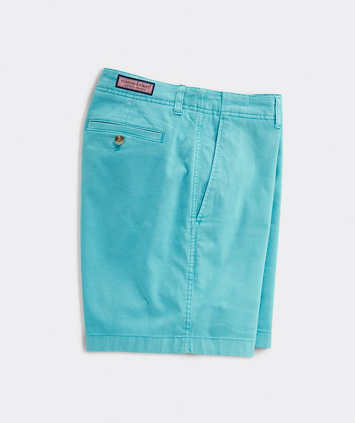 "Vineyard Vines - M's 7"" Island Shorts in Flats Blue"