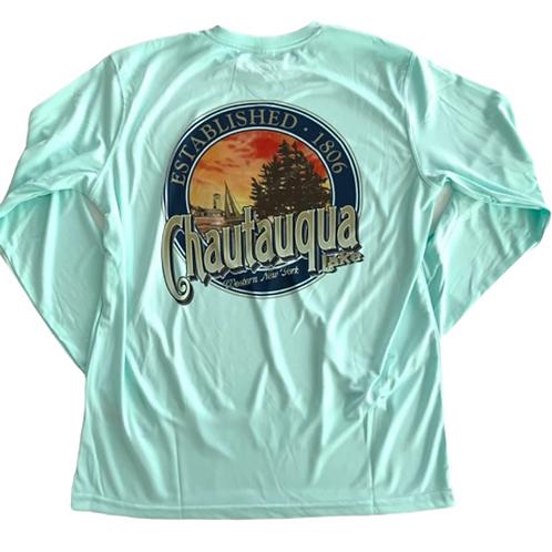 Chautauqua Lake Sun Protection Shirt in Mint