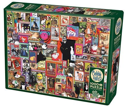 1000 Piece Puzzle - Catsville