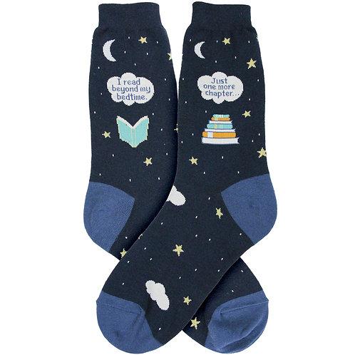 Womens Socks - Bedtime Reading