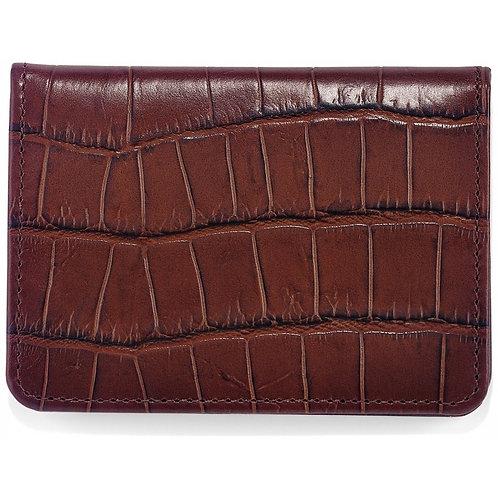 Brighton Rockefeller Flip Wallet in Brown