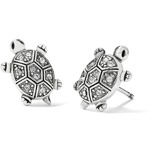 Brighton Fortune Turtles Mini Post Earrings