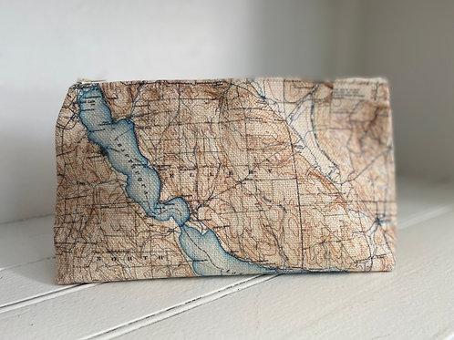 Chautauqua Lake Map SmallTravel Bag