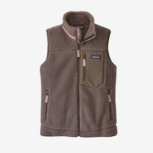 Patagonia - W's Classic Retro-X Fleece Vest in Furry Taupe