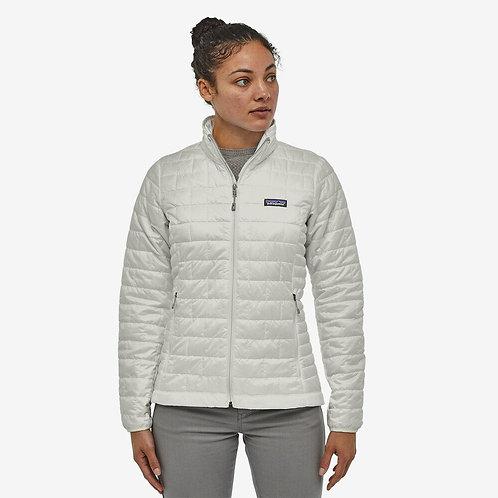 Patagonia - W's Nano Puff Jacket in Birch White