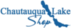 Chautauqua Lake Shop Logo White Backgrou