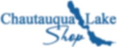 Chautauqua Lake Shop Logo White Backgrou