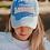 Thumbnail: Lakegirl Distressed Mesh-Back Hat in Periwinkle