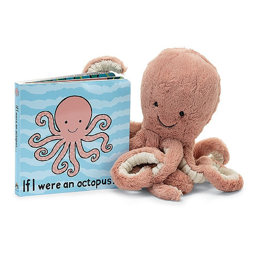 Jellycat Board Book - If I Were An Octopus