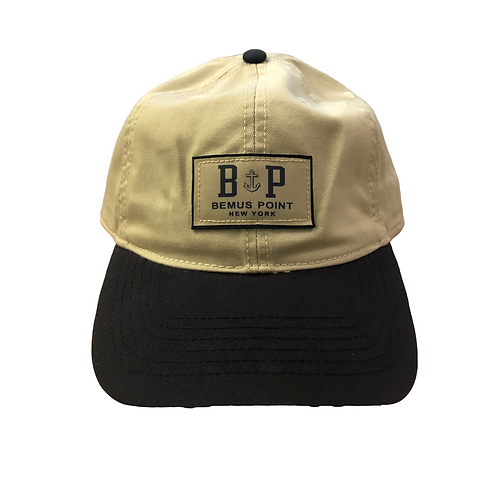 Bemus Point Baseball Hat - Two Tone with Anchor