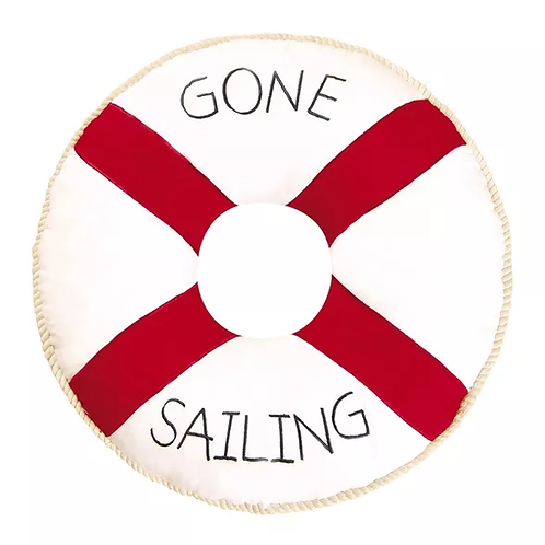 Gone Sailing Pillow