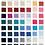Thumbnail: Cashmere Poncho - Yellows, Purples, Pinks