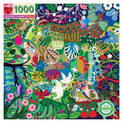 1000 Piece Puzzle - Bountiful Garden