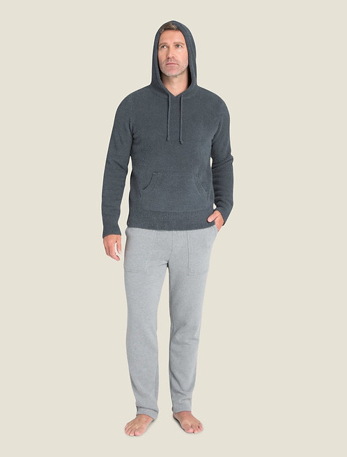 Barefoot Dreams M's Cozychic Pullover Hoodie in Slate