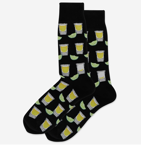 Mens Socks - Tequila Shots