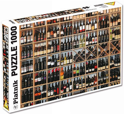 1000 Piece Puzzle - Wine Gallery