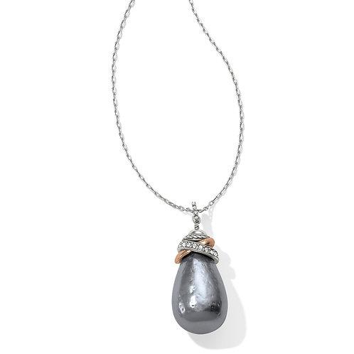 Brighton Neptune's Rings Gray Pearl Necklace