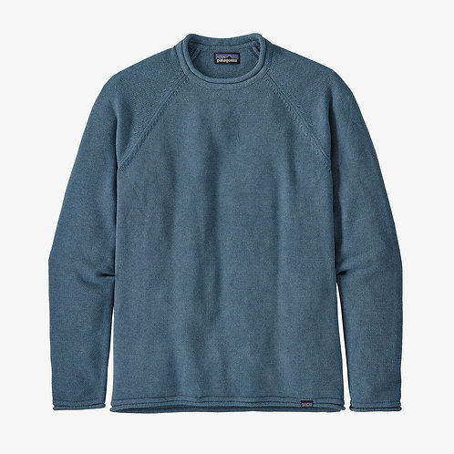Patagonia - M's Ponderosa Pine Roll-Neck Sweater in Pigeon Blue