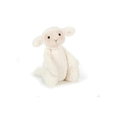 """Jellycat Bashful Lamb - 7"""""""