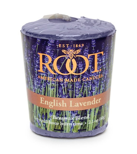Root Candle in English Lavender - Votive