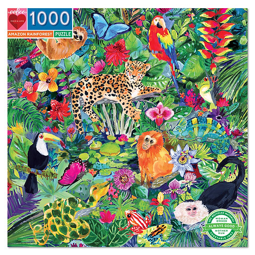 1000 Piece Puzzle - Amazon Rainforest