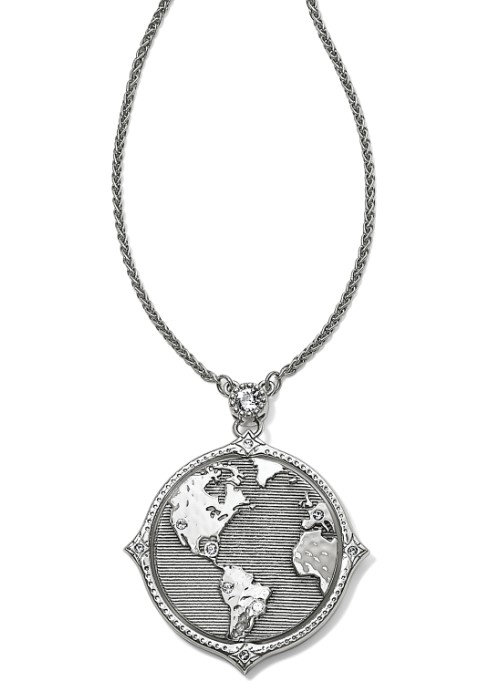 Brighton Halo Odyssey Earth Wonders Necklace