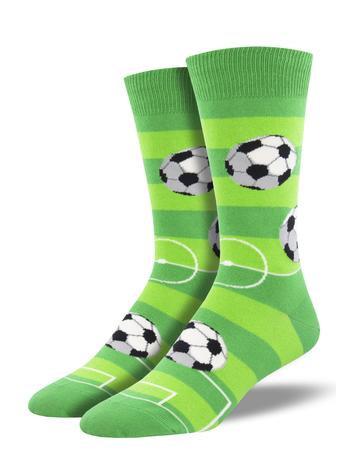 Mens Socks - Soccer Goal For It