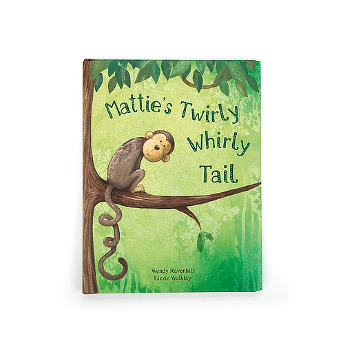 Jellycat Book - Mattie's Twirly Whirly Tail