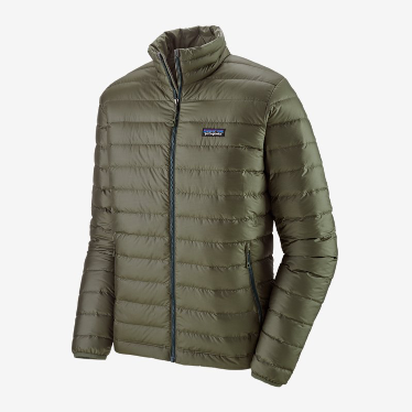 Patagonia - M's Down Sweater Jacket in Industrial Green