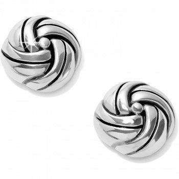 Brighton Interlok Knot Post Earrings