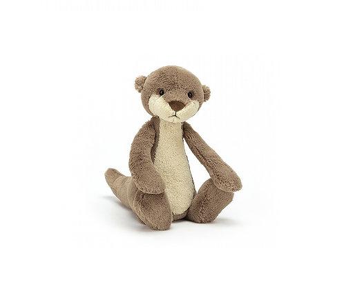 "Jellycat Bashful Otter - 7"""