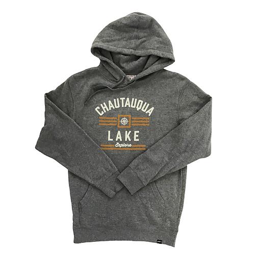 Chautauqua Lake Hoodie - Explore in Heathered Gray