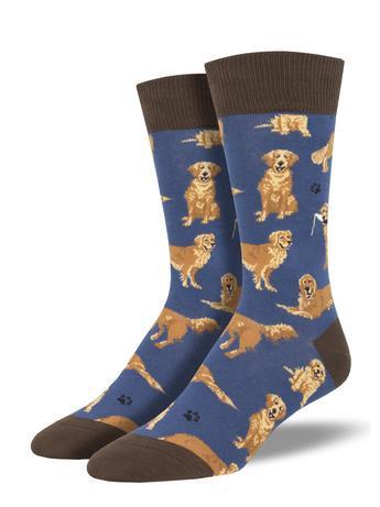 Mens Socks - Golden Retriever