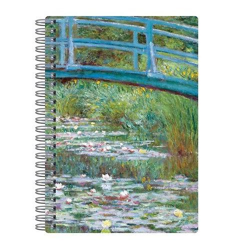 Monet Footbridge Journal
