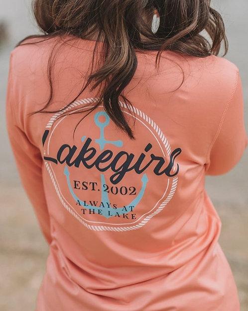 Lakegirl Rash Guard in Melon