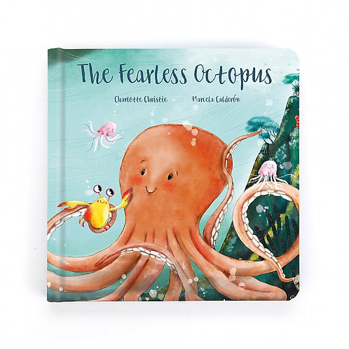 Jellycat Book - The Fearless Octopus