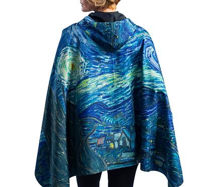 Rain Caper - Van Gogh's Starry Night