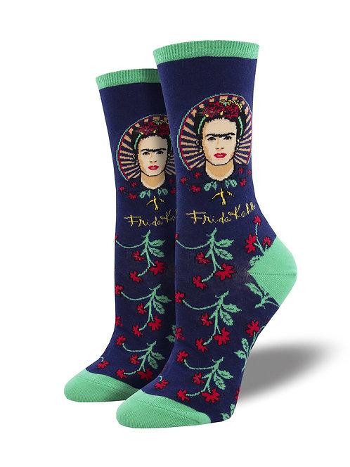 Womens Socks - Frida Flower