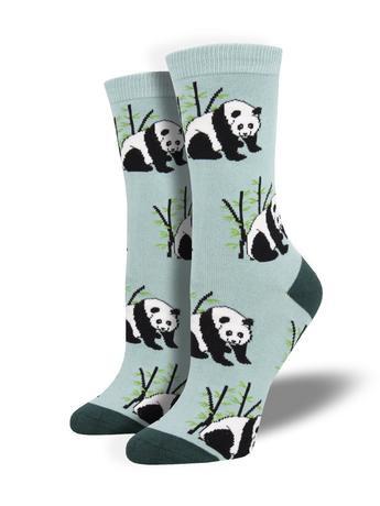 Womens Socks - Panda